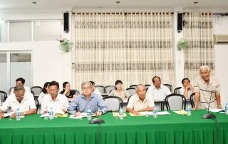 Hội thảo góp ý lịch sử ngành kiểm tra Đảng tỉnh
