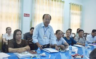 Ủy ban Về các vấn đề xã hội của Quốc hội làm việc tại Bến Tre