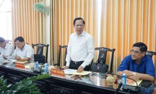 Góp ý dự thảo Văn kiện Ðại hội XI Ðảng bộ tỉnh về thu hút nguồn lực đầu tư