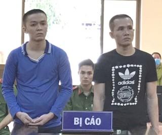 Trộm cắp tài sản, 2 bị cáo lãnh án tù