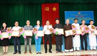 Ủy ban MTTQ Việt Nam tỉnh sơ kết công tác Mặt trận 6 tháng đầu năm 2020