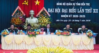 Đại hội đại biểu Đảng bộ Quân sự tỉnh lần thứ XII, nhiệm kỳ 2020 - 2025