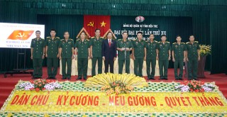 Bế mạc Đại hội đại biểu Đảng bộ Quân sự tỉnh