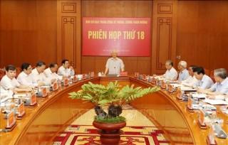 Tổng Bí thư, Chủ tịch nước Nguyễn Phú Trọng chủ trì Phiên họp Ban Chỉ đạo Trung ương về phòng, chống tham nhũng
