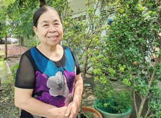 Cô Nguyễn Thị Kiên tâm huyết với công tác thiện nguyện