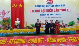 Bình Đại khai mạc Đại hội đại biểu Đảng bộ huyện nhiệm kỳ 2020 - 2025