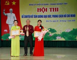 Tổng kết hội thi kể chuyện tấm gương đạo đức, phong cách Hồ Chí Minh