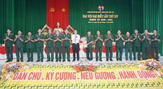 Đại hội đại biểu Đảng bộ Bộ đội Biên phòng tỉnh thành công tốt đẹp