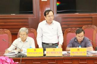 Thành viên UBND tỉnh họp lệ kỳ tháng 7-2020