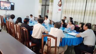 Hội nghị trực tuyến tăng cường công tác phòng chống dịch Covid-19