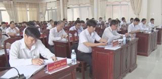 Hội nghị lần thứ hai Ban Chấp hành Đảng bộ huyện Ba Tri