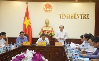 Chủ tịch Liên minh Hợp tác xã Việt Nam làm việc tại Bến Tre