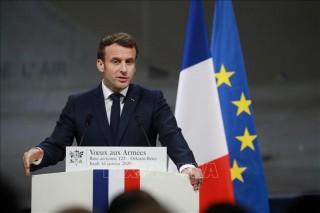 Tổng thống Pháp cam kết hỗ trợ Liban khắc phục hậu quả vụ nổ ở Beirut