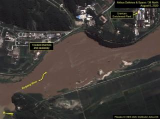 Lũ lụt có thể đã làm hư hại nhà máy hạt nhân của Triều Tiên