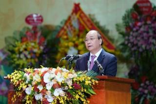 Thủ tướng Nguyễn Xuân Phúc dự lễ kỷ niệm 75 năm Ngày truyền thống Công an nhân dân Việt Nam