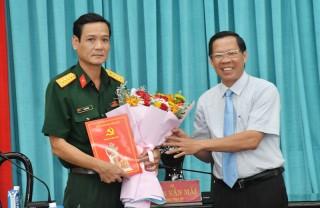Hội nghị Tỉnh ủy đột xuất bầu Ủy viên Ban Thường vụ Tỉnh ủy đối với đồng chí Võ Văn Hội