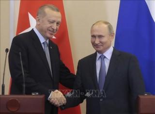 Tổng thống Nga, Thổ Nhĩ Kỳ thảo luận các cuộc xung đột tại Libya, Syria