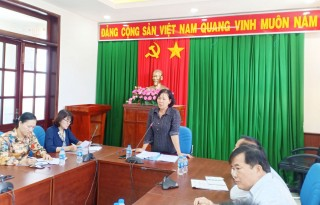 Đoàn đại biểu Quốc hội tỉnh Bến Tre họp đoàn khảo sát