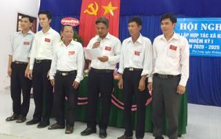 Thành lập Hợp tác xã nông nghiệp Kiến Phú