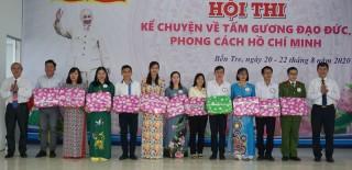 Khai mạc hội thi kể chuyện về tấm gương đạo đức, phong cách Hồ Chí Minh