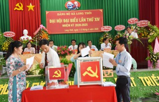 Huyện ủy Chợ Lách tổng kết đại hội đảng bộ, chi bộ trực thuộc nhiệm kỳ 2020 - 2025