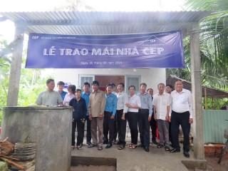 CEP hỗ trợ kinh phí xây dựng nhà cho hộ nghèo