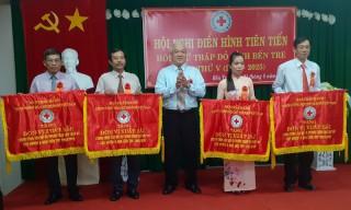 Hội nghị điển hình tiên tiến Hội Chữ thập đỏ tỉnh