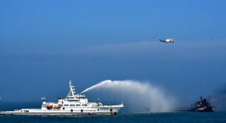 Tàu chở dầu đâm tàu hàng trên sông Dương Tử, nhiều thiệt hại về người