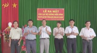 Xã Vĩnh An ra mắt Câu lạc bộ gương điển hình học tập và làm theo Bác