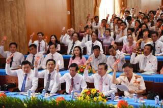 Đại hội đại biểu Đảng bộ huyện Chợ Lách nhiệm kỳ 2020 - 2025 họp phiên trù bị