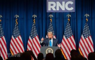 Bầu cử Mỹ: Đảng Cộng hòa đề cao sự nhiệt huyết Tổng thống Donald Trump