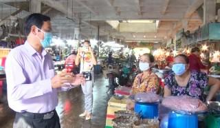 TP. Bến Tre kiểm tra công tác phòng chống dịch Covid-19 tại phường An Hội