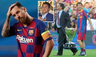 Cựu chủ tịch Barca vẫn hy vọng Messi ở lại với một điều kiện