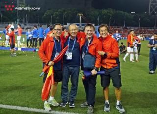 Giành HCV SEA Games, thầy Park vinh dự nhận Huân chương Lao động hạng Nhì