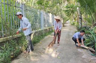 An Phước thực hiện tiêu chí số 17 trong xây dựng nông thôn mới