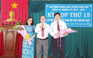 HĐND huyện Bình Đại họp phiên bất thường