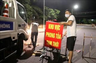 Các điểm phong tỏa ở Quảng Trị đều đã được dỡ bỏ
