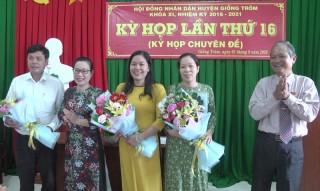 HĐND huyện Giồng Trôm tổ chức kỳ họp lần thứ 16