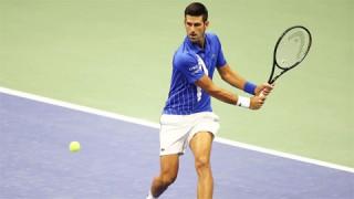 Djokovic thắng dễ trận ra quân US Open 2020