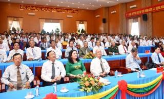 Hoàn thành Ðại hội Ðảng bộ cấp cơ sở, chuẩn bị Ðại hội Ðảng bộ tỉnh lần thứ XI