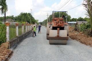 Thạnh Phước khẩn trương hoàn thành các tiêu chí xã nông thôn mới