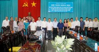 Hội thảo khoa học về hồ sơ trình UNESCO cùng kỷ niệm 200 năm Ngày sinh danh nhân Nguyễn Đình Chiểu