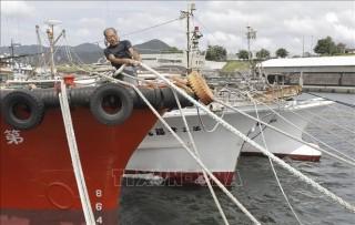 """Nhật Bản dồn sức ứng phó siêu bão """"mạnh nhất trong nhiều thập kỷ"""""""
