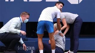 Djokovic bị loại khỏi giải Mỹ mở rộng vì sự cố hy hữu