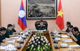 Việt Nam và Lào thúc đẩy hiệu quả hợp tác quốc phòng