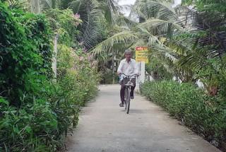 Tổ NDTQ số 16 dẫn đầu phong trào thi đua ấp Bình Thuận