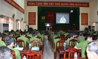 Hội nghị trực tuyến triển khai dự án cấp quản lý căn cước công dân