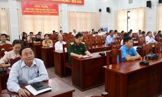 Hội nghị quán triệt Thông báo Kết luận 173 và Chỉ thị 43, 44 của Ban Bí thư