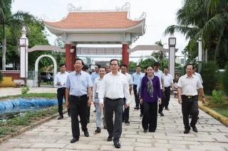 Nhiều tư liệu quý tại Khu lưu niệm Nữ tướng Nguyễn Thị Định