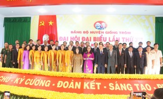 Giồng Trôm tập trung triển khai Nghị quyết Đại hội XII Đảng bộ huyện